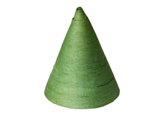 Vatový kužel zelený-velký
