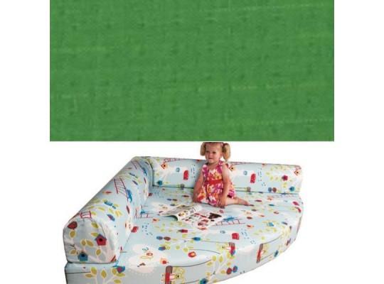 Relaxační sedací kout Ramon - tmavě zelená