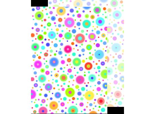 Fotokarton barevná kolečka