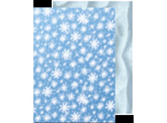 Fotokarton - Sníh/Vločky