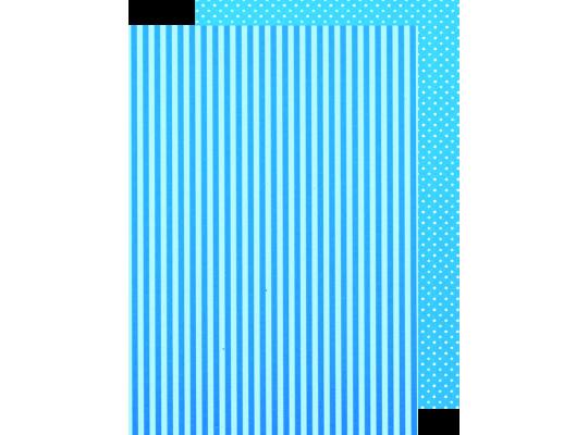 Fotokarton Proužky/puntíky - sada ll. (8ks)
