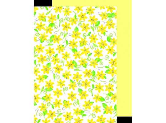 Fotokarton fialky žluté