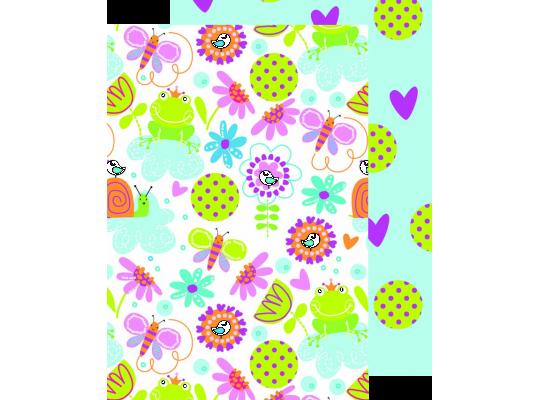 Fotokarton jarní zahrada
