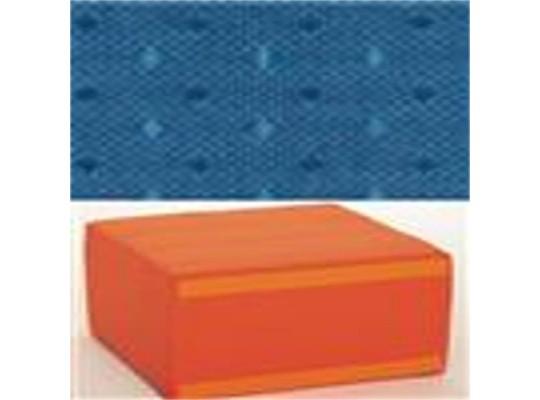 Sedací souprava velká - čtvercová část bez opěradla - Ramon tmavě modrá