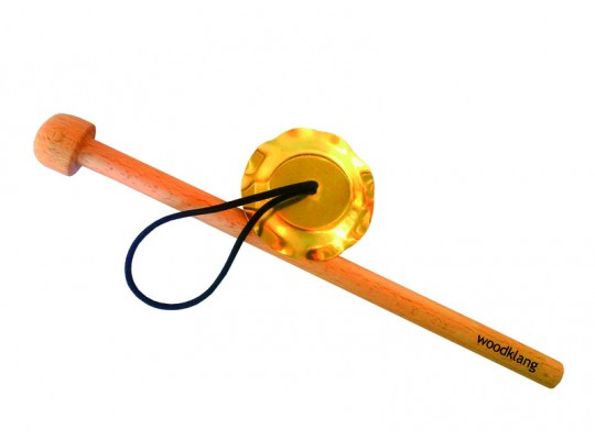 Činelek závěsný pr. 10 cm, (+ palička 24 cm)
