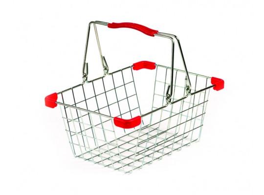 Košík nákupní-kovový-dětský