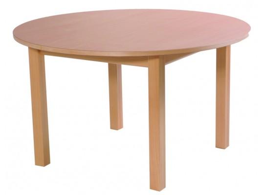 Stůl kruh průměr 123cm-výška 46cm