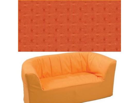 Dvojkřeslo Ramon - tmavě oranžová
