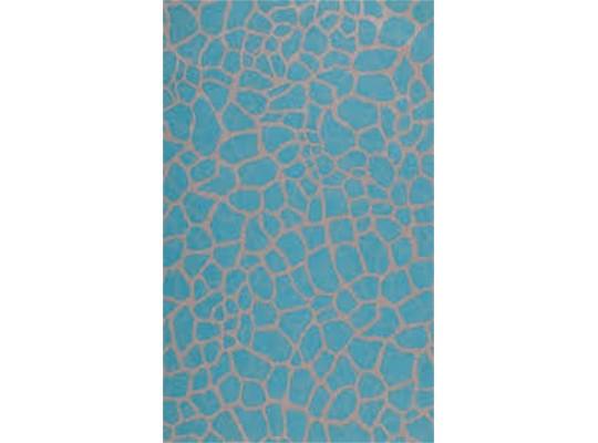 Decoupage-papír na ubrouskovou techniku-30x40cm-modrá-vzor