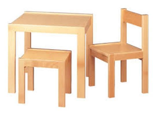 Stolička-výška 28cm