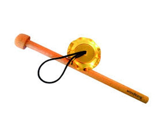 Činel závěsný s paličkou-malý