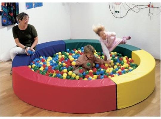 Bazén kruhový - Koženka barevná