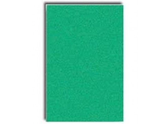 Papír sametový zelený 35x50