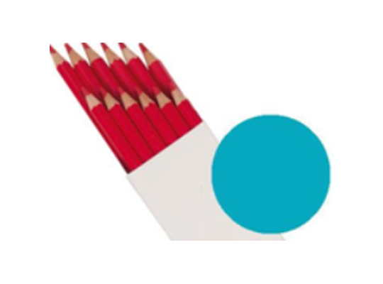 Pastelky Farbino-světle modré