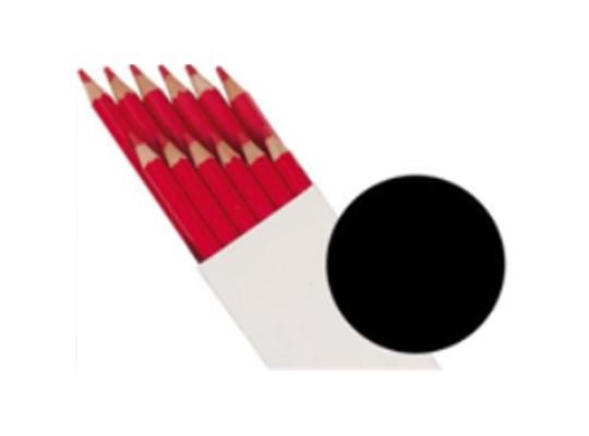 Pastelky Farbino-černé