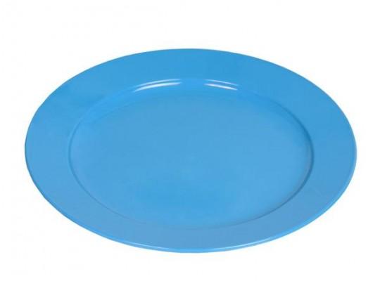 Nádobí Valon talíř mělký-modrý