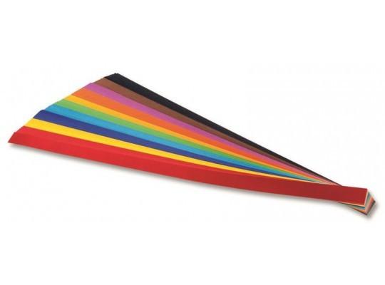 Proužky z papíru proplétací barevné dlouhé