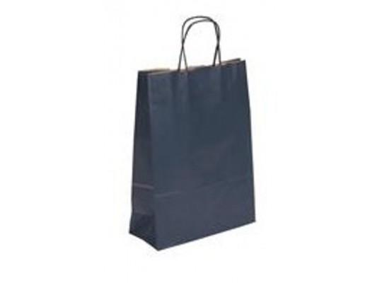 Taška z papíru-modrá