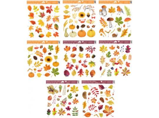 Fólie okenní-podzim