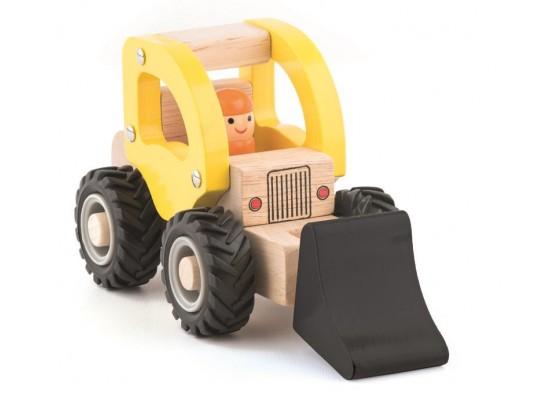 Auto dřevěné-bagr