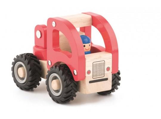 Auto dřevěné-hasič