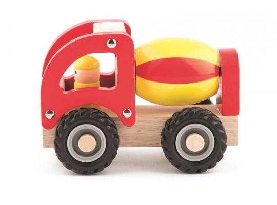 Auto dřevěné-míchačka