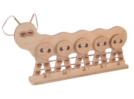 Housenka dřevěná XXL