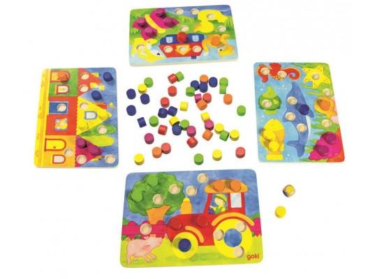 Kostková hra - barvičky