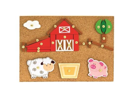 Hra s kladívkem-farma