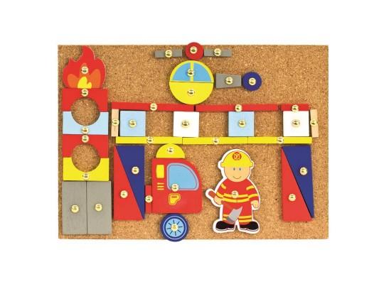 Hra s kladívkem-hasiči