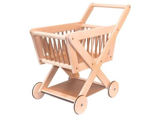 Nákupní košík dřevěný