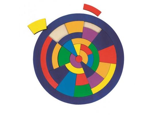 Puzzle dřevěné-kruh