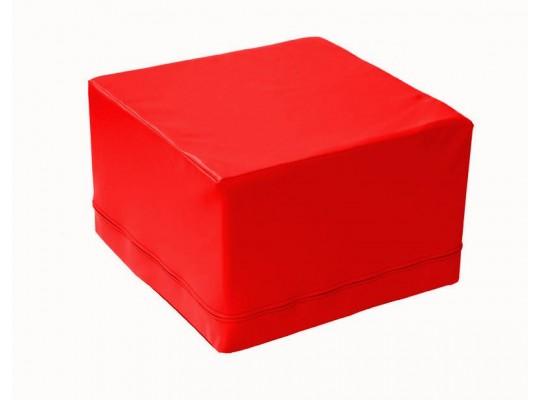 Stavebnice housenka kostka červená