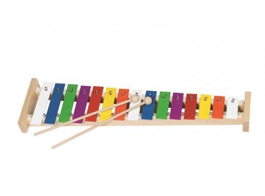 Xylofon kovový-15 tónů