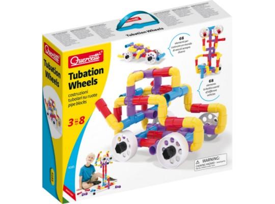 Stavebnice Tubation Wheels-Quercetti