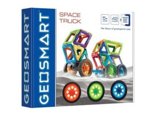 Stavebnice magnetická-Space Truck Geosmart