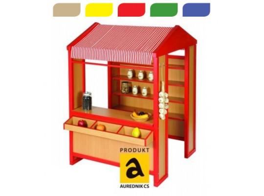 Obchod Aurednik-žlutý