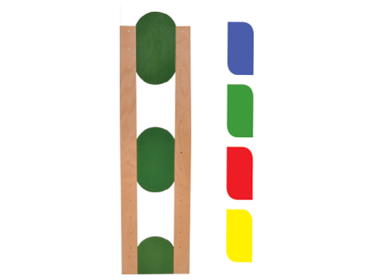 Stojina dlouhá ovál-modrý