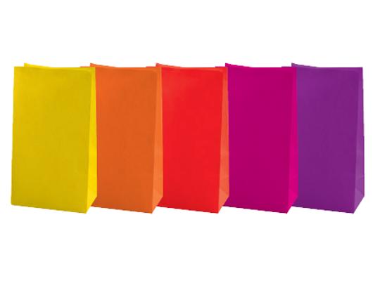 Sáček papírový-barevný