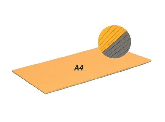 Tónpapír A4 stříbrný/zlatý