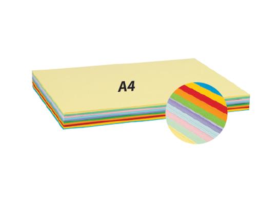 Papír na skládání barevný