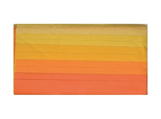 Hedvábný papír tón v tónu-žlutý