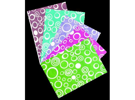 Papír přírodní-bublinky