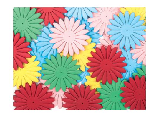 Květiny z papíru velké