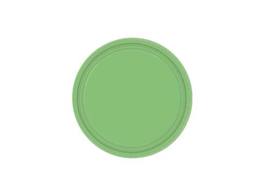 Talířek z papíru barevný-zelený