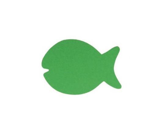 Kapr z papíru zelený