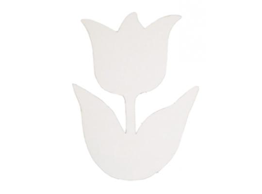 Tulipán z lepenky