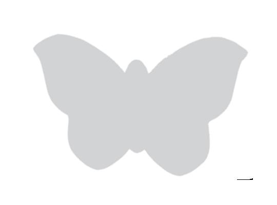 Motýl z lepenky