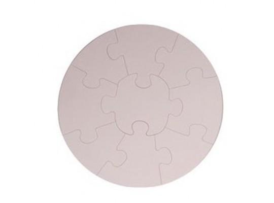 Puzzle z lepenky-mandala
