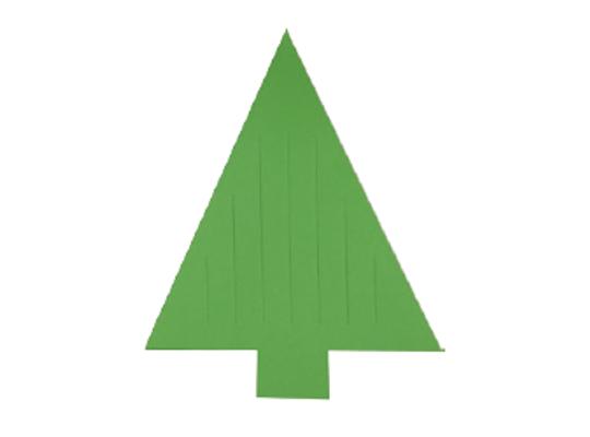 Tvar z papíru proplétací-strom